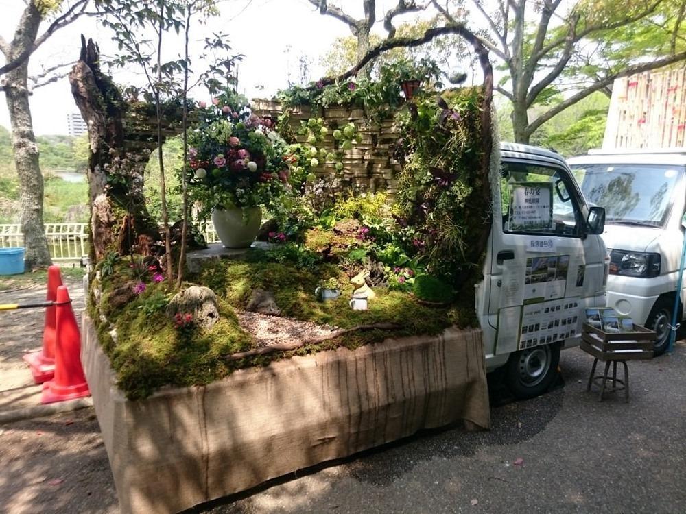 Kei Truck Garden Contest – необычный конкурс ландшафтных дизайнеров в Японии