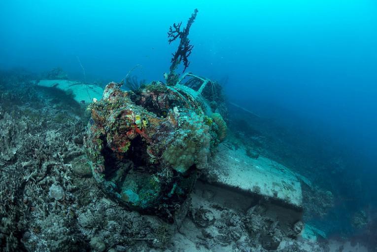 Кладбище военных кораблей лагуны Чуук