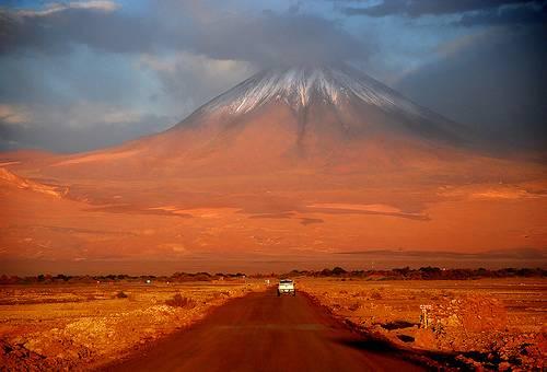 Извержение вулкана в Чили. Как это было