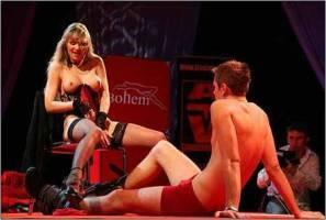Красных фонарей порно театр