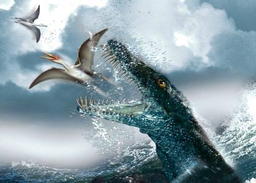 Туристы нашли морское чудовище, а ученые – доисторических существ
