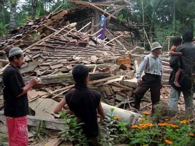 Землетрясение сотрясло Бали