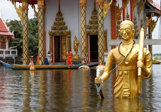 Бангкок борется с сильнейшим наводнением