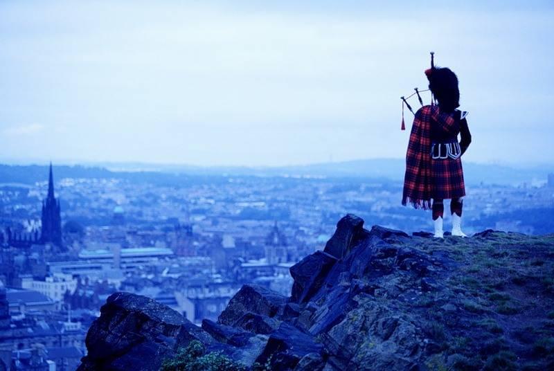 Шотландия отделяется от Великобритании