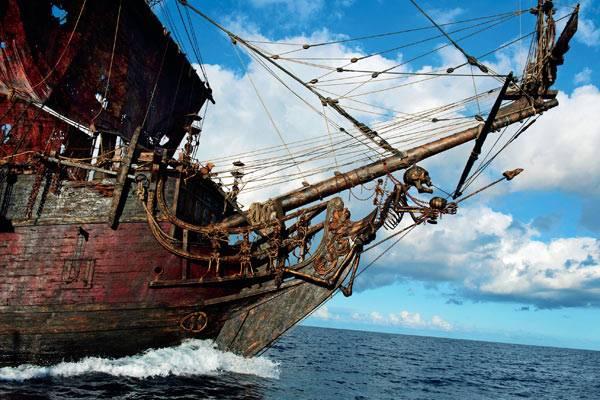 Корабль Черной бороды поднимают со дна