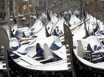 Венеция веселится, несмотря на морозы