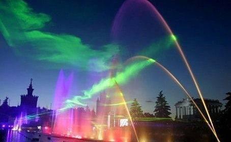 В Москве открыт сезон фонтанов