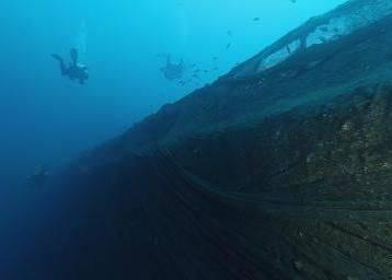 На борту затонувшего корабля откроют выставку