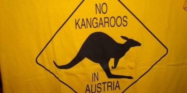 В Австрии кенгуру нет!