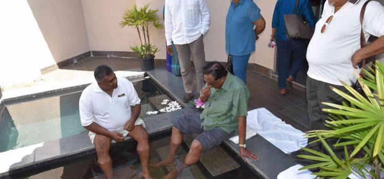 Фиш терапия в Sun Aqua Pasikudah, Шри-Ланка