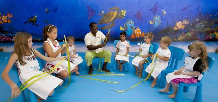 Детский клуб Majaa на курорте Kurumba