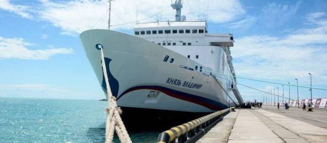 Круизный лайнер «Князь Владимир» завершил навигацию сосредней загрузкой менее 50%