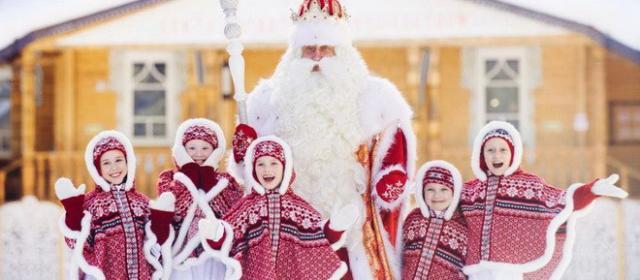 Новогодняя перезаморозка в Великом Устюге