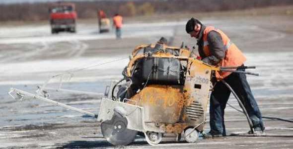 Аэропорт «Запорожье» в мае закрывает на ремонт взлетную полосу