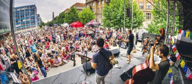 Прага готовится к фестивалю уличной музыки