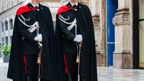 Карабинеры в Италии
