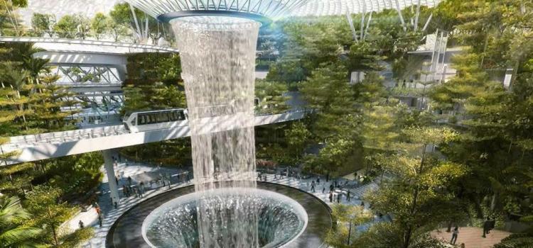 Аэропорт Чанги в Сингапуре не перестает удивлять