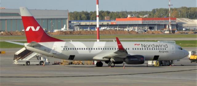 Nordwind Airlines будет летать из Москвы во Владикавказ