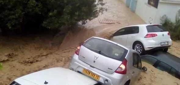 Сильнейшее наводнение произошло в Тунисе