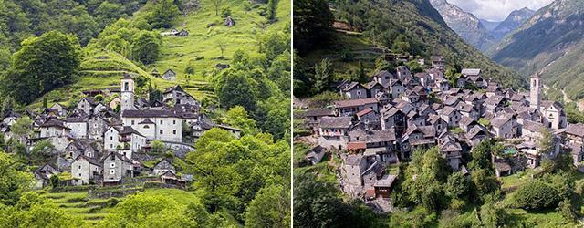 Кориппо – швейцарская деревня, которую превратят в гостиницу