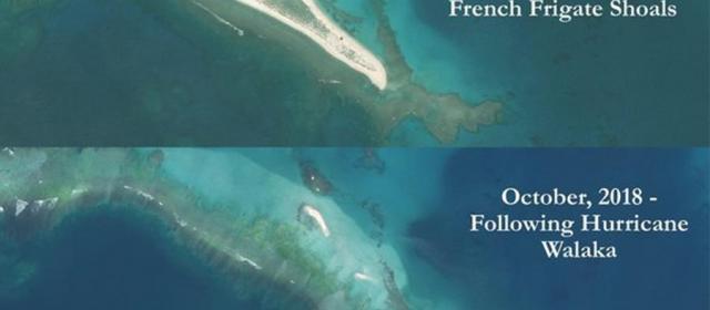 Один из Гавайских островов ушел под воду
