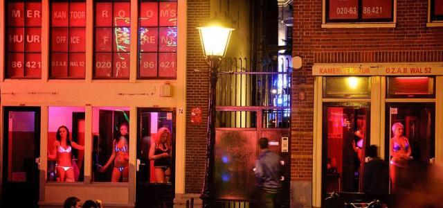 Жрицы любви в Амстердаме покинут Квартал красных фонарей?