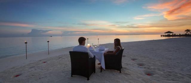 День любви в Velassaru Maldives.