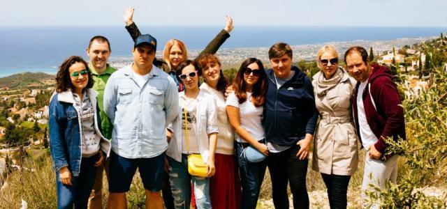 Министерство по туризму Республики Кипр и авиакомпания «Россия» пригласили партнеров на остров Афродиты