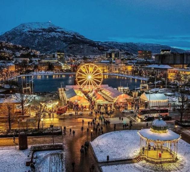 ТОП-6 Самых «рождественских» мест Норвегии