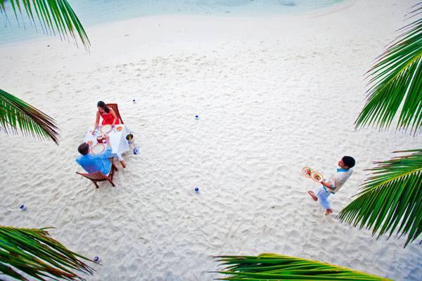 День рождения любви в Kuramathi Maldives