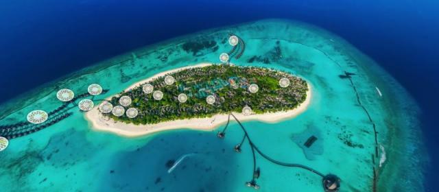 Увидеть Sun Siyam Iru Fushi Maldives на 360°