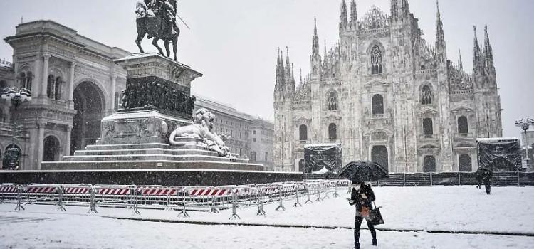 Девять лучших фотографий заснеженной европы