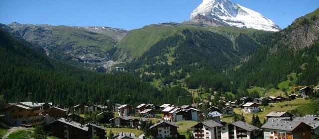 Самые красивые места Швейцарских Альп
