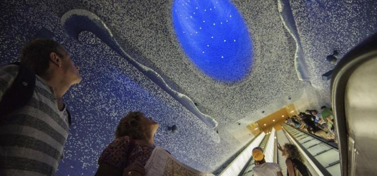 Самые красивые и интересные станции метро Европы