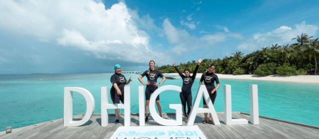 Захватывающие морские глубины в Dhigali Maldive